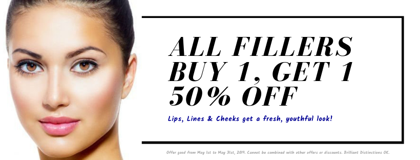 All FIllers Buy 1, Get 1 50% off
